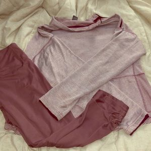 Champion workout outfit